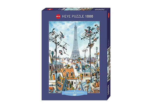 Palapeli Eiffel Tower Cartoon Classics 1000 osaa