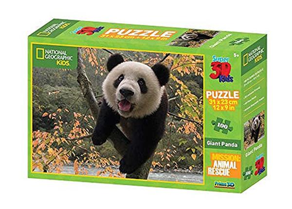 Palapeli 3D Panda 100 osaa