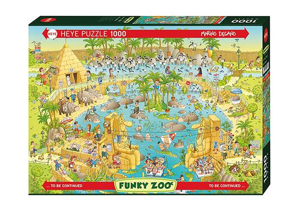 Palapeli Nile Habitat 1000 osaa