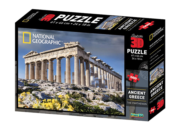 Palapeli 3D Vanha-Kreikka 500 osaa