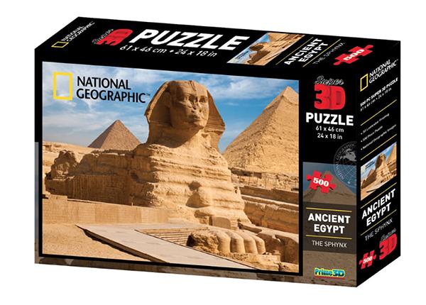 Palapeli 3D Vana-Egiptus 500 osaa