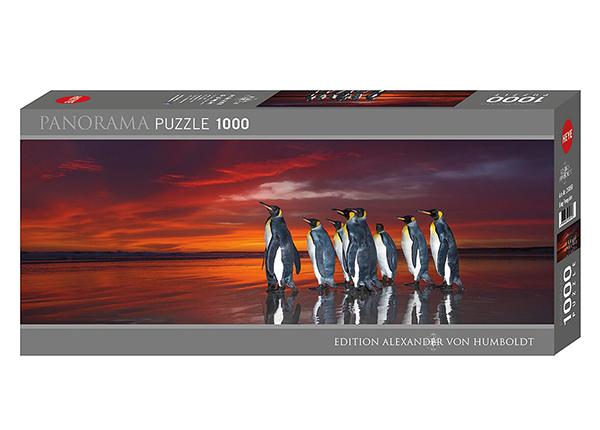 Palapeli King Penguins 1000 osaa