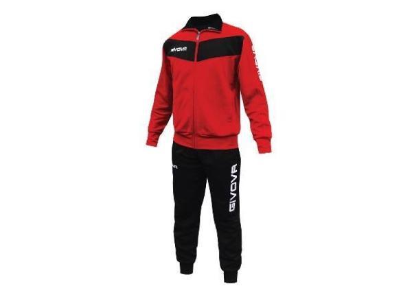 Комплект мужской спортивной одежды Givova Tuta Visa TR018 1210 размер L