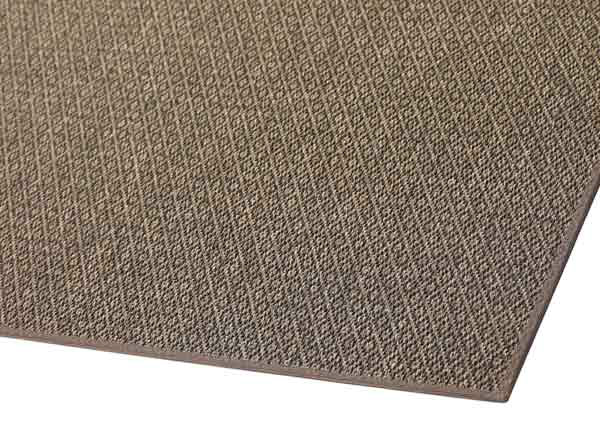 Narma sileäpintainen matto Bello, ruskea