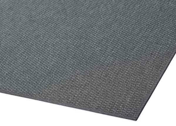 Narma sileäpintainen matto Bono, hiilenharmaa