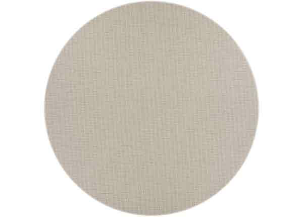 Narma sileäpintainen Limo, hiekanvärinen ja pyöreä Ø 160 cm