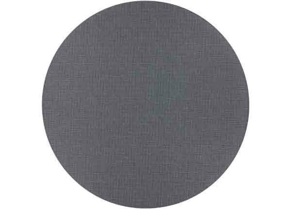 Narma sileäpintainen Limo, hiilenharmaa ja pyöreä Ø 160 cm
