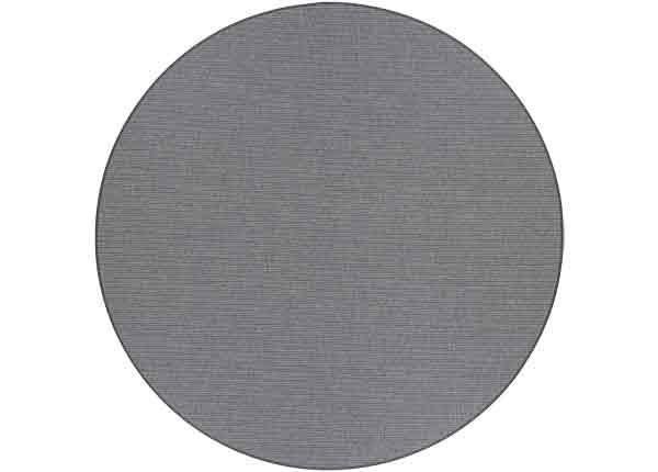 Narma sileäpintainen Credo, harmaa ja pyöreä Ø 160 cm