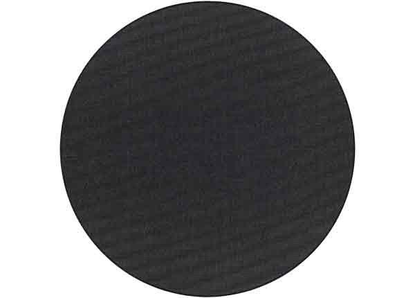 Narma sileäpintainen Credo, musta ja pyöreä Ø 160 cm