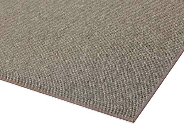 Narma sileäpintainen matto Credo, ruskea