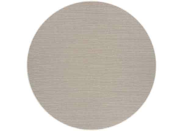 Narma sileäpintainen Credo sand matto, pyöreä Ø 160 cm NA-249457