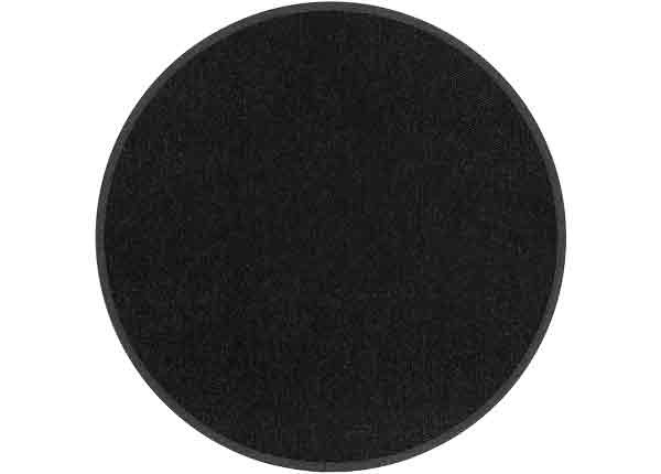 Narma villane vaip Savanna black ümar Ø 160 cm NA-249591