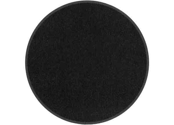 Narma villamatto Savanna, musta pyöreä Ø 160 cm NA-249598