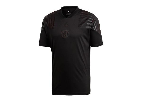 Miesten jalkapallopaita adidas Mufc Lic Tee M CW7651