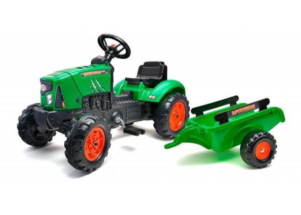 Lasten traktori Supercharger