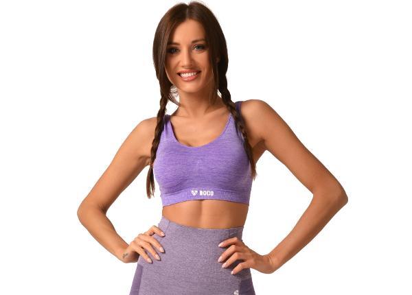 Naiste spordirinnahoidja Boco Wear Violet Melange