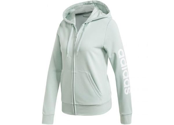 Naiste dressipluus adidas W Essentials Linear Full Zip Hoodie W FM6484