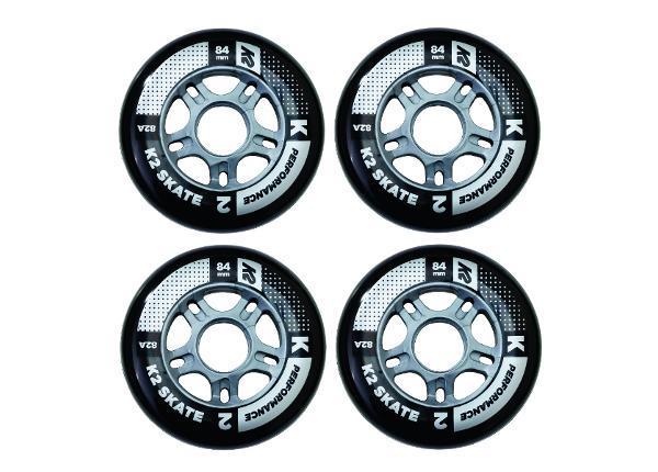 Rulluisu rataste komplekt K2 Performance 84 mm 4 tk