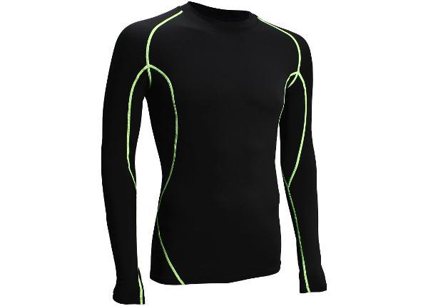 Мужская компрессионная рубашка длинная Pick Avento размер M
