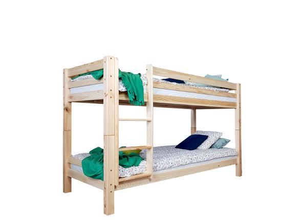 Двухъярусная кровать Carmen 90x200 cm