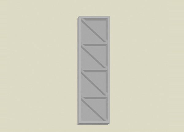Baltest viinipullokaappi 25 cm AR-259850