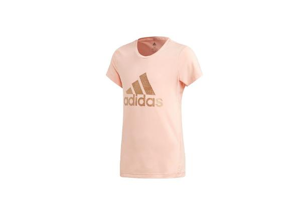 Lasten treenipaita Adidas Holiday Jr Tee Junior ED6323