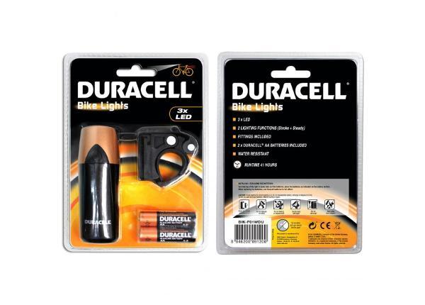 Jalgratta esituli Duracell 3 LED