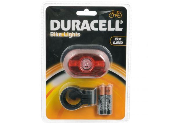 Polkupyörän takavalo Duracell 5 LED