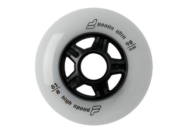 Rullaluistimen renkaat Fila 90mm/83A 8 kpl