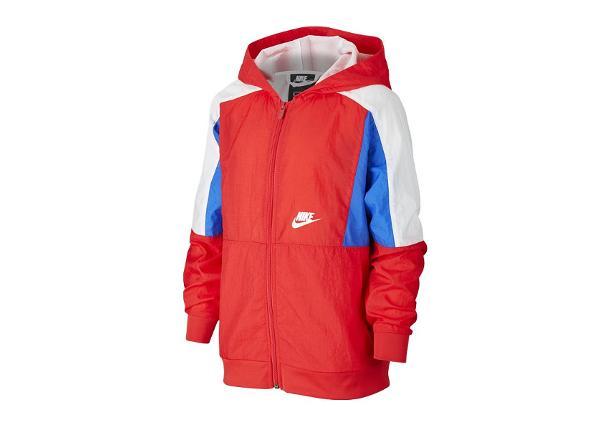 Dressipluus lastele Nike Nsw Woven FZ Hoodie Jr CJ7895-657