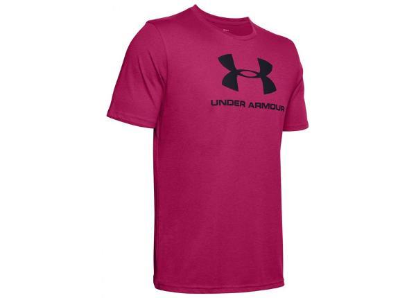Meeste treeningsärk Under Armour Sportstyle Logo SS M 1329590-671
