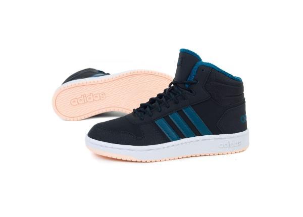 Laste vabaajajalatsid Adidas Hoops Mid 2.0 K Jr EE6703