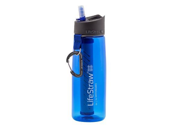 Veepudel 2-astmelise puhastusfiltriga