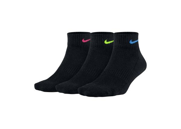 Naiste spordisokkide komplekt Nike WMNS Cushioned 3-pakk W SX7180-913