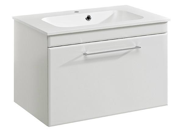 Шкаф под раковину с минеральной раковиной Seo