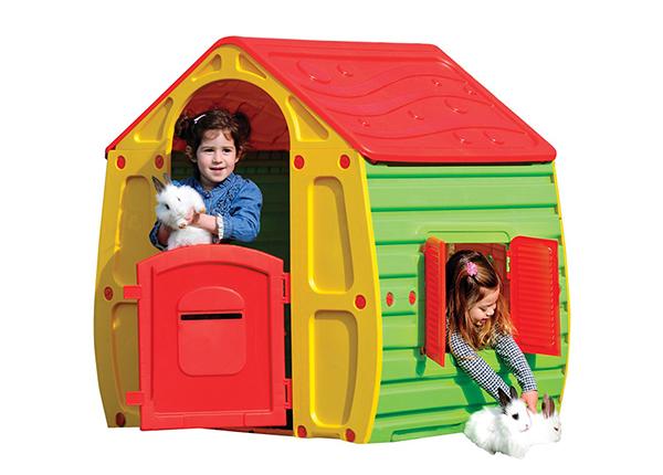 Пластиковый игровой дом Buddy Toys