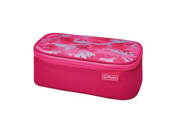 Пенал с крышкой Be Bag Beat Box Kamuflaaz розовый