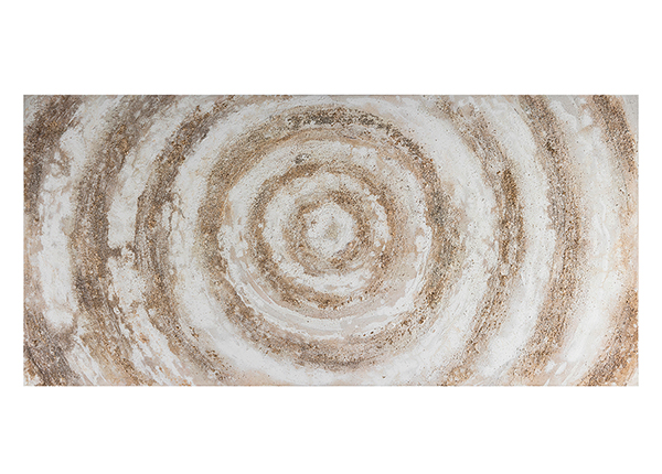 Масляная картина Круги 70х150 см