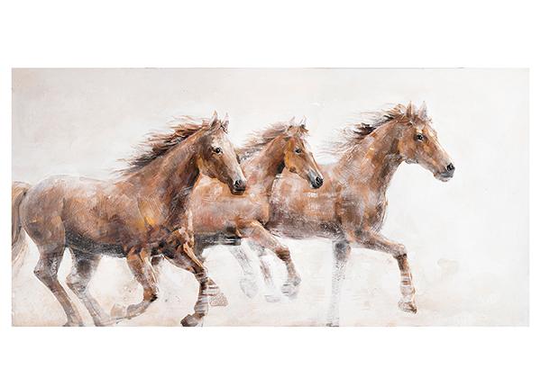 Масляная картина Лошадь 76x150 см