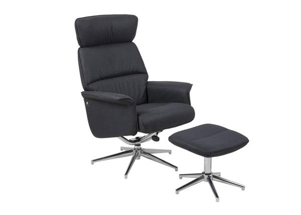 Кресло + пуф Alura