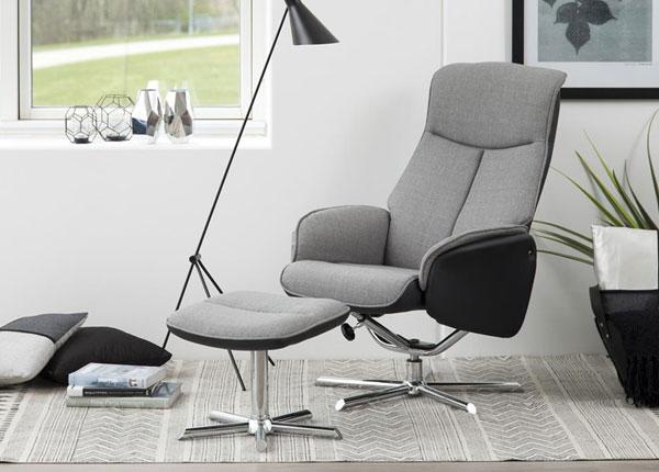 Кресло + пуф Annora