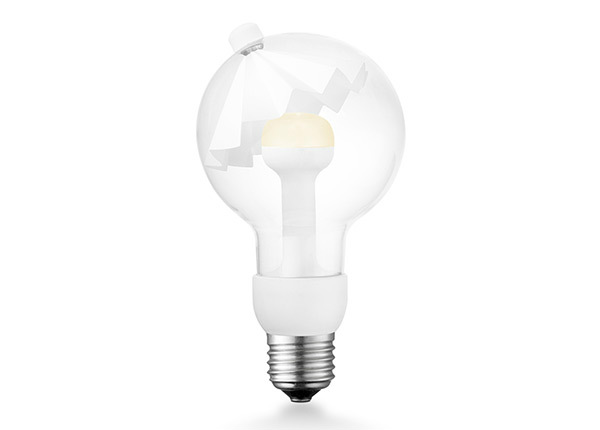 LED lamppu Move Me umbrella, E27, 3W