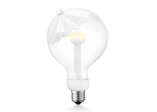 LED lamppu Move Me umbrella, E27, 5,5W