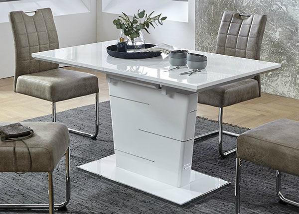 Jatkettava ruokapöytä Sila 80x140-180 cm