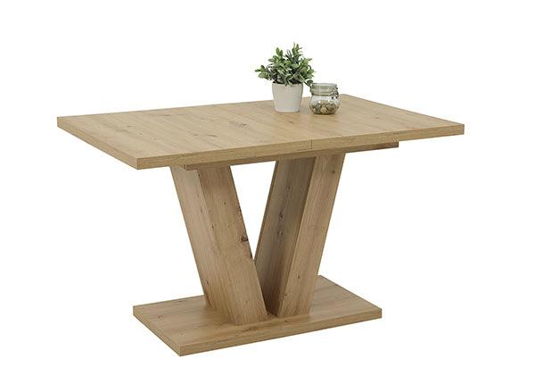Удлиняющийся обеденный стол Tia 80x120-160 cm