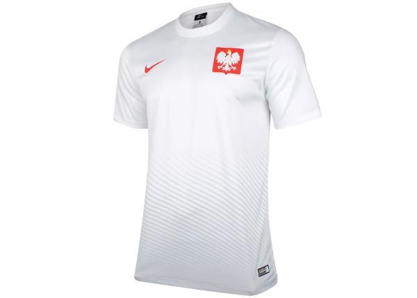 Lasten jalkapallopaita Nike Polska Youth Away Supporters Tee Junior 846807-100