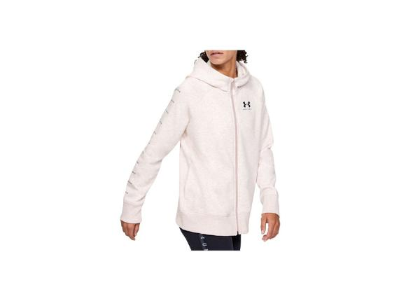 Naisten huppari Under Armour Rival Fleece Sportstyle LC Sleeve Graphic Full Zip W 1348559-667
