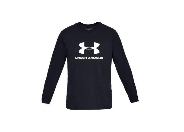 Miesten treenipaita Under Armour Sportstyle Logo Long Sleeve M 1329283-001