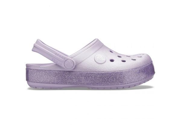 Laste plätud Crocs Crocband Glitter Clog Jr 205936 530