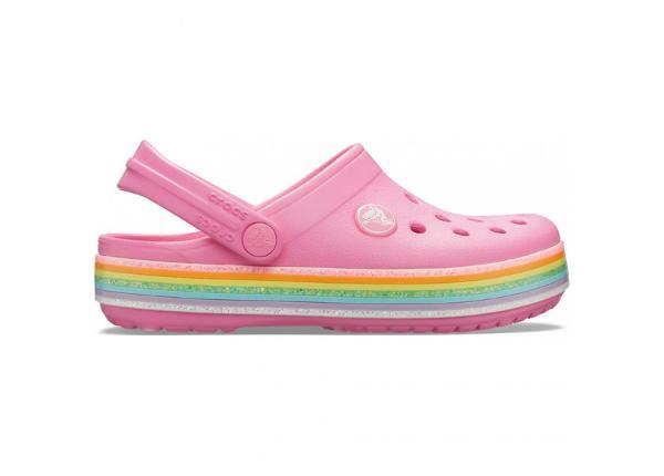 Laste plätud Crocs Crocband Rainbow Glitter Clg Jr